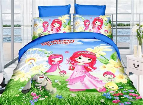 strawberry shortcake bed set strawberry shortcake bed set strawberry shortcake 4