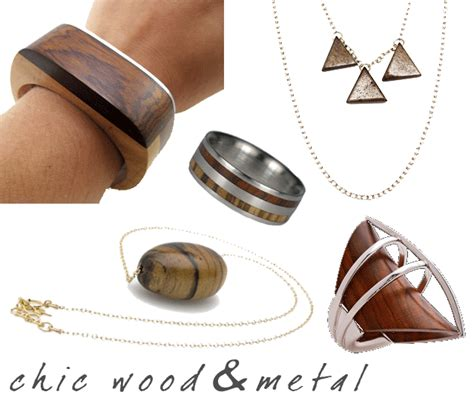 wood for jewelry chic metal wood jewelry objects of splendor pulp