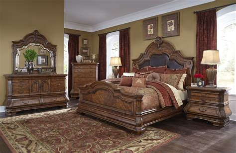 aico bedroom set 4 aico tuscano melange mansion bedroom set