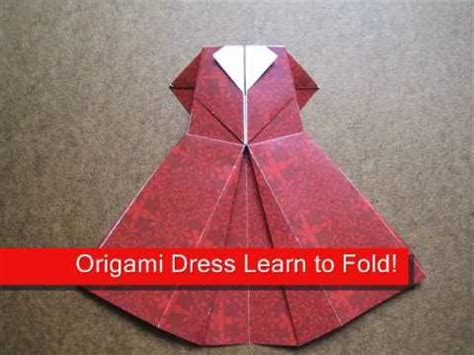 how to make a paper dress origami how to make an origami evening dress