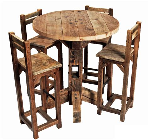 kitchen bar table and chairs furniture rustic small high top kitchen table