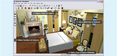 free interior design software great bedroom design program to make the whole process