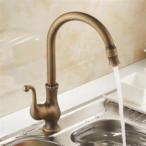 antique kitchen faucet antique brass 360 rotate kitchen faucets vessel mount