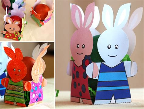 easter paper craft ideas 13 easter craft ideas and decorations free templates
