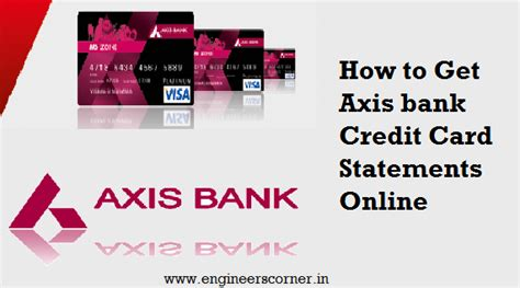 how bank make profit from credit card how to get axis bank credit card statements