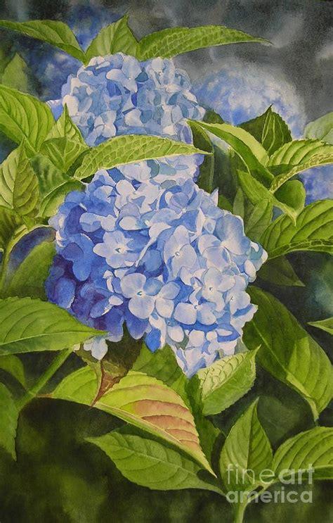 acrylic painting hydrangeas best 25 hydrangea painting ideas on paint