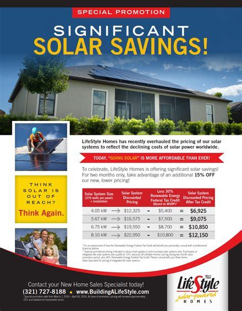 Zero Energy Home Design special solar promotion lifestyle solar powered homes