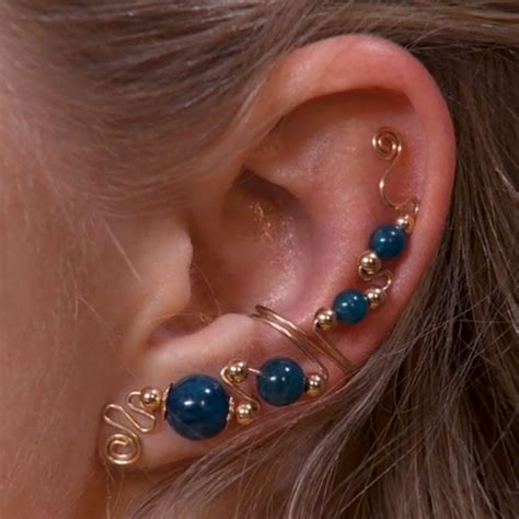 how to make ear cuffs jewelry ear cuff designs wire jewelry wire wrap tutorials