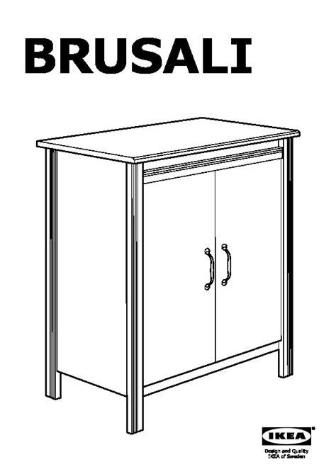 brusali cabinet brusali cabinet with doors white ikea united kingdom