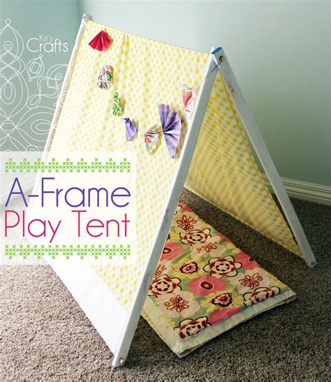 tent craft for kit s crafts a frame play tent for less than 10