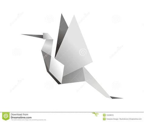 stork origami origami stork stock vector image of beak animals birds