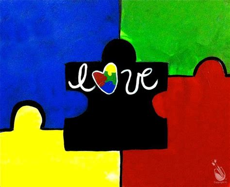 paint with a twist fundraiser puzzle autism delaware fundraiser sunday april 2