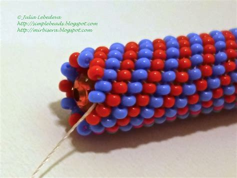 peyote stitch beading beading for the beginners pen decorated with seed