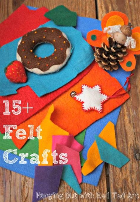 craft felt projects craft with felt 15 ideas ted s