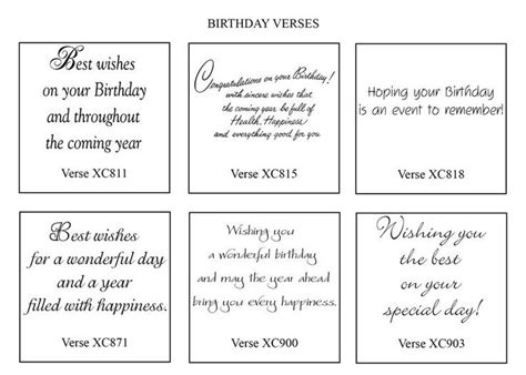 card verses best 20 birthday quotes ideas on