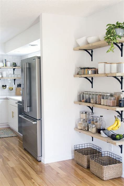 kitchen wall shelves ideas 25 best ideas about kitchen shelves on open kitchen shelving open shelving and