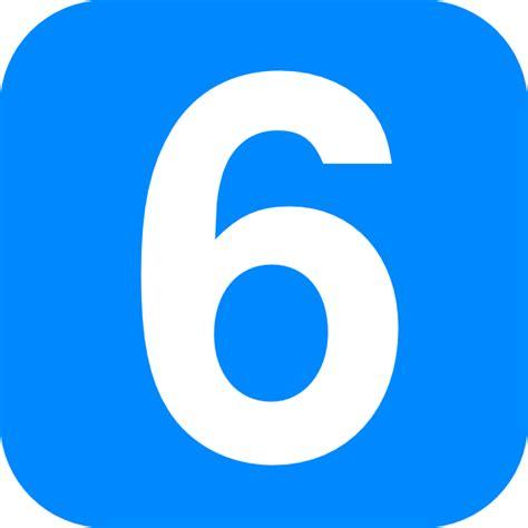 number six six clip at clker vector clip
