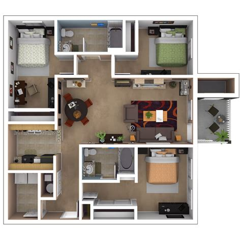 one bedroom apartments in baton baton apartments floor plans