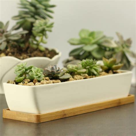 modern white planter cheap modern style decorative white rectangle