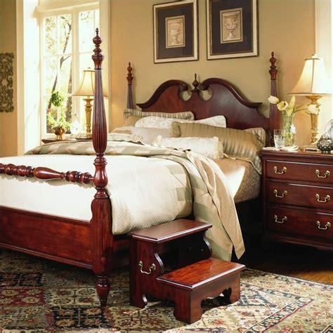 cherry bedroom furniture set cherry grove low poster bed 2 bedroom set 791 38xr pkg