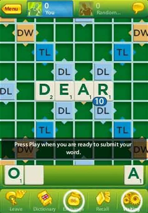 apps for scrabble free scrabble app for iphone ipod touch android