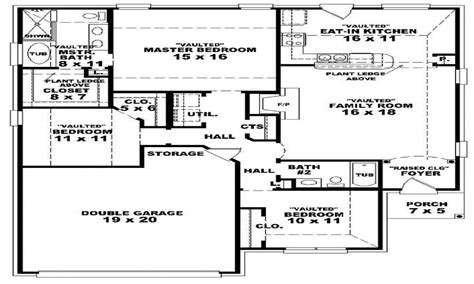house plans with and bathrooms 3 bedroom 2 bath 1 story house plans 3 bedroom 2 bathroom house modern 2 bedroom house plans