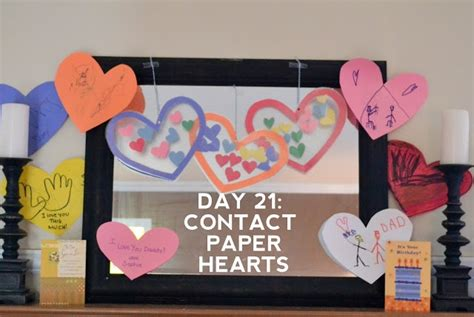 craft contact paper contact paper hearts crafts