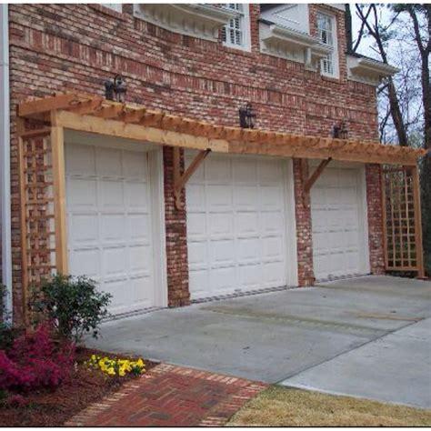 pergola garage doors home ideas