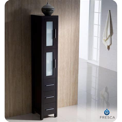bathroom vanities with side cabinets fresca torino 36 quot espresso modern bathroom vanity with