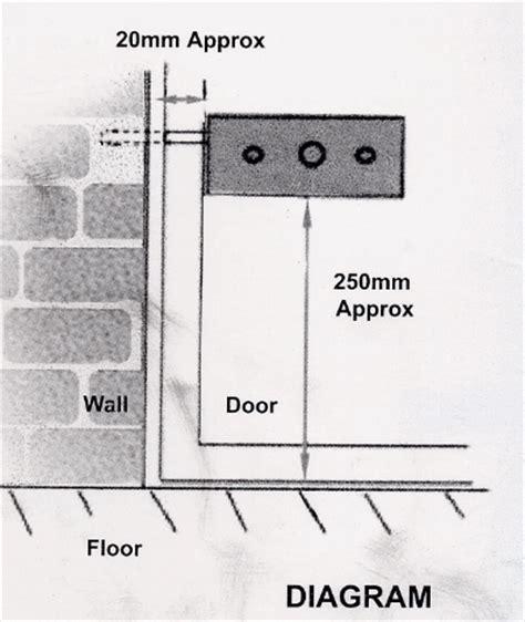 enfield garage door locks asec garage door bolts pair
