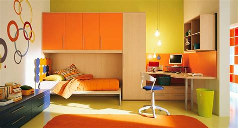 interior exterior plan orange themed interior for