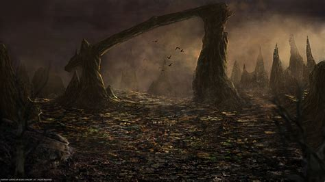 dark scenery fantasy concept by fpesantez on deviantart