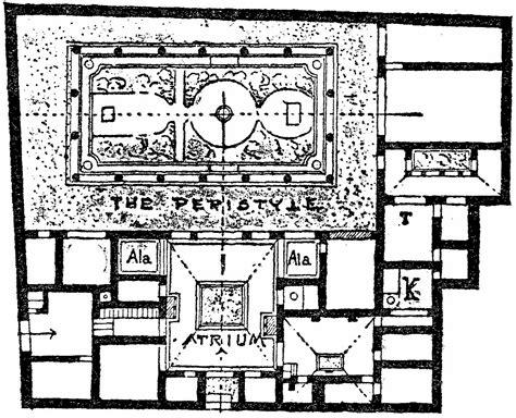 house of the vettii floor plan the house of vettii floor plan idea home and house
