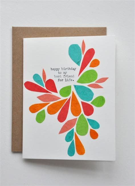 ideas for birthday cards for friends happy birthday birthday card best friend handmade