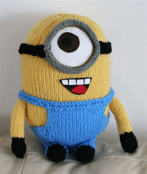 how to knit minions minion ideas the whoot