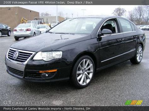 2008 Volkswagen Passat Vr6 by Black 2008 Volkswagen Passat Vr6 4motion Sedan