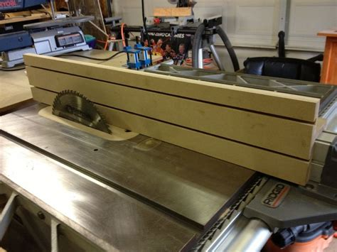 best table saw for woodworking auxiliary fence for my table saw layered 1 4 quot mdf on top