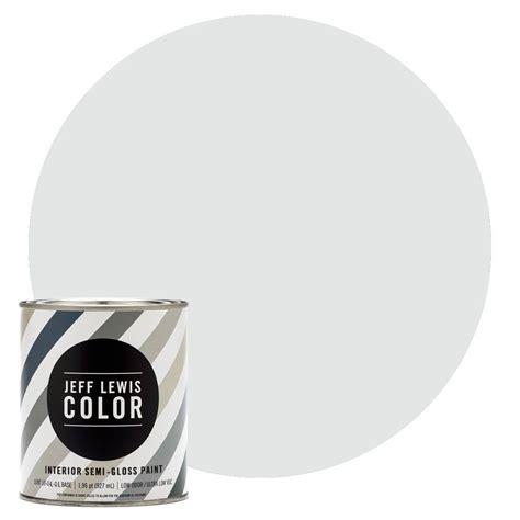 home depot semi gloss paint colors jeff lewis color 1 qt jlc310 sky semi gloss ultra low