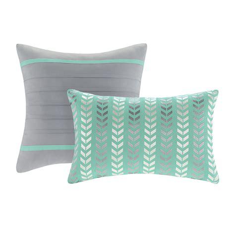 chevron comforter sets xl comforter set chevron teal free shipping