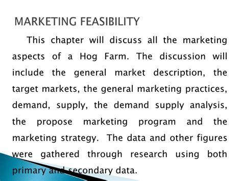 a project feasibility study for the establishment of e amp j farms