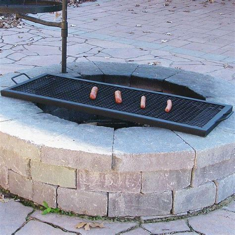 grill for pit large grill grates for pits pit design ideas