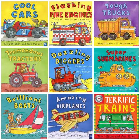 picture books about transportation books read read read