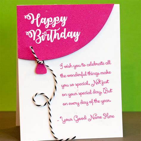 make a birthday card with name happy birthday wishes card with name edit