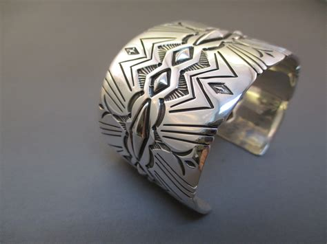silversmith jewelry sterling silver bracelet by curtis two grey