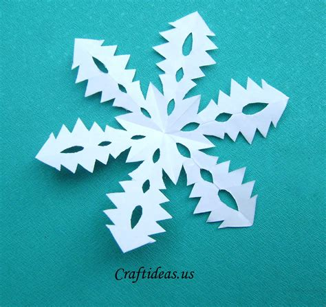 snowflake paper craft craft ideas tree snowflakes craft ideas