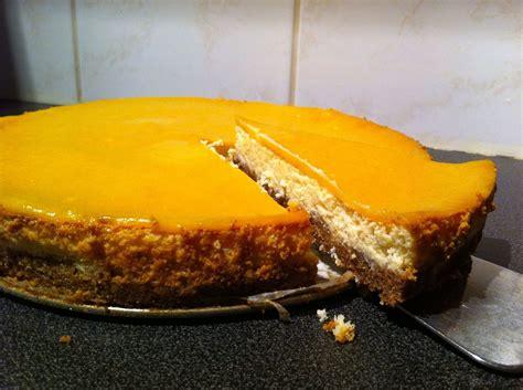 cheesecake avec gla 231 age de mangue les recettes de gwenaelle