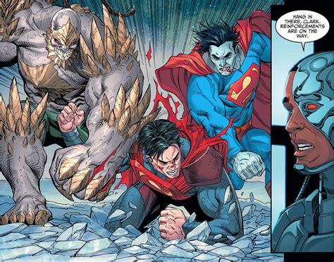 comic vs bizarro and doomsday vs superman injustice gods among us