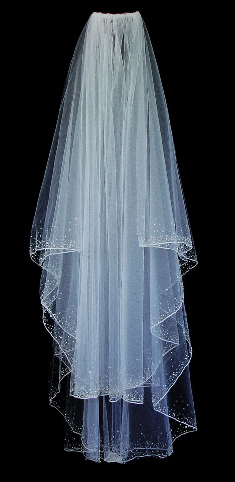 Veil 139 Beaded Veil