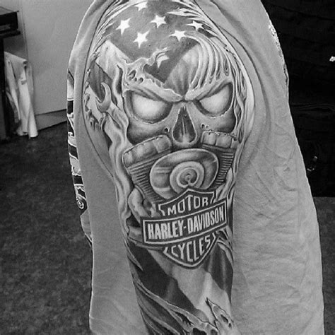 Harley Davidson Tattoos Tribal by 340 Best Harley Tattoos Images On Biker