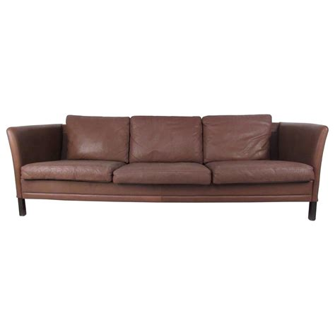 mid century modern sofa for sale impressive mid century modern leather sofa for sale